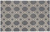 Pantone Universe UNIVERSE Optic Carved Circle Lattice Wool Rug