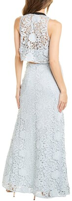 Sachin + Babi Nina Silk-Trim Gown