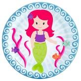 BuySeasons Mermaids Paper Dessert Plates - 8 count