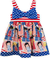 Rare Editions Americana Bow Sundress, Toddler & Little Girls (2T-6X)