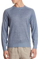 Brunello Cucinelli Raglan Sleeve Crewneck Sweater