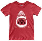 Urban Smalls Red 'Love Bites' Tee - Toddler & Boys