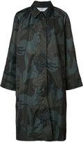 Nili Lotan camouflage midi coat
