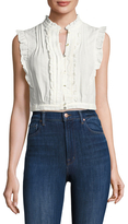 Plenty by Tracy Reese Victorian Cotton Cropped Top