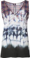 Altuzarra tie dye tank top - women - Silk - 36