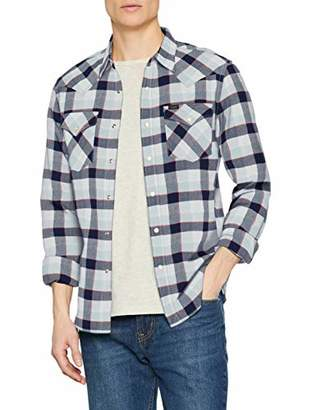 Lee Men's Western Shirt Casual Shirt,X-Large