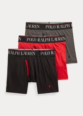Ralph Lauren 4D Flex Boxer Brief 3-Pack
