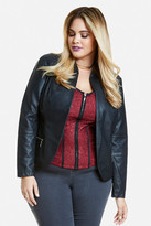 Fashion to Figure Oasis Faux Leather Blazer