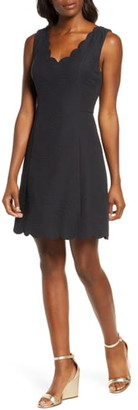 Lilly Pulitzer Sabeen Stretch Jacquard Fit & Flare Dress