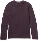 Boglioli - Ribbed Wool, Silk and Cashmere-Blend Sweater