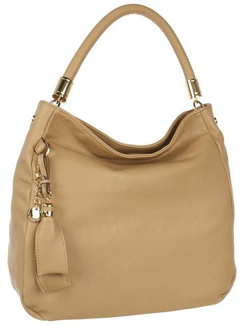 Ivanka Trump Olivia Bucket Hobo (Sand) - Bags and Luggage