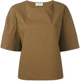 Lemaire short sleeved T-shirt - women - Cotton - 34