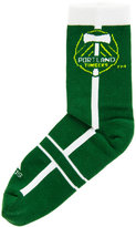 adidas Portland Timbers Mid Team Color Stripe Socks
