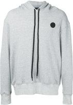 Bassike logo print hoodie - men - Cotton - S