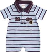 Schnizler Baby Boys Kurzoverall Interlock Little Star Player - Blue -