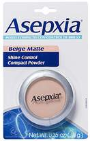 Asepxia Shine Control Compact Powder, Beige Matte, 0.35 oz by Asepxia