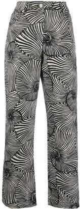 Baum und Pferdgarten Nikka shell print trousers