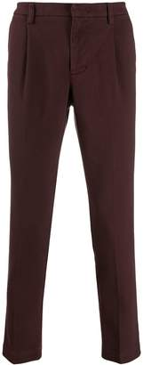 Entre Amis slim-fit chino trousers