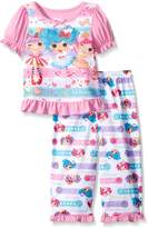 "Lalaloopsy Little Girls' Toddler ""Sew Cute - S/S"" 2-Piece Pajamas"