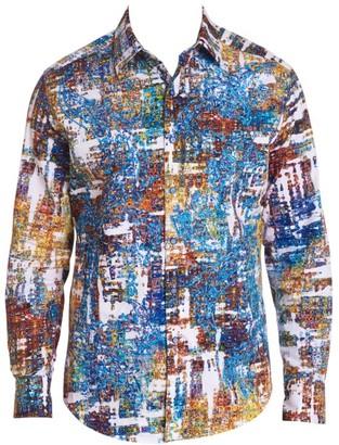 Robert Graham Axle Button-Up Shirt