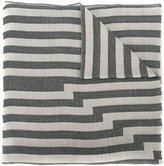 Etro striped jacquard scarf