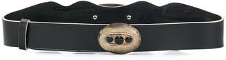 Gianfranco Ferré Pre-Owned 1990s Crystal-Embellished Belt