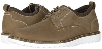 Dockers Fleming Leather Smart Series Dress Casual Oxford (Tan Crazy Horse) Men's Lace up casual Shoes