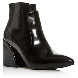 Jeffrey Campbell Women's Pointed-Toe Block-Heel Booties