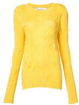 Marques Almeida Marques'almeida - ribbed sweater - women - Viscose/Polyamide - XS