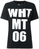 White Mountaineering logo print shortsleeved sweatshirt