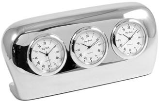 Bey-Berk Salzburg Time Zone Quartz Clock