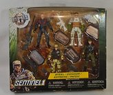 Toys 'R' Us Toys R Us True Heroes - Sentinel One 4.5 inch Action Figure 4 Pack - Steel / Condor / Extreme / Patch