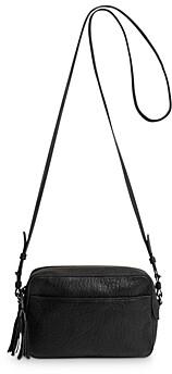 Gerard Darel Reporter Ovine Leather Crossbody Bag