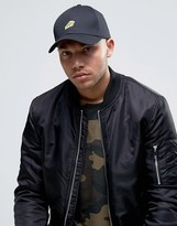 Asos Baseball Cap With Pizza Embroidery