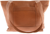 Piel Women's Leather Top Zip Tote 7630