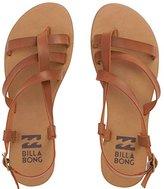Billabong Women's Tan Linez Toe Ring Sandal