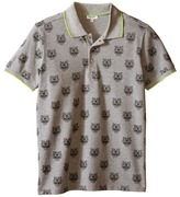 Kenzo All Over Tiger Polo Shirt Boy's Clothing