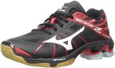 Mizuno Women's Wave Lightning Z WOMS BK-RD Volleyball Shoe