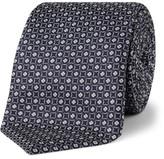 Canali Neat Foulard Silk Tie