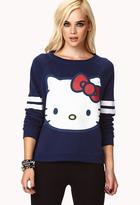 Forever 21 Hello Kitty® Raglan Sweatshirt
