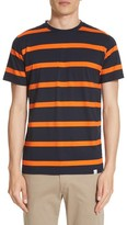 Norse Projects Men's Neils Industrial Stripe T-Shirt