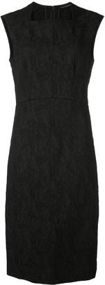 Josie Natori Textured Shift Dress