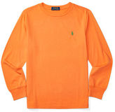 Ralph Lauren Cotton Jersey Long-Sleeve Tee
