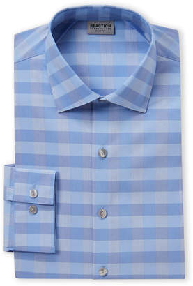 Kenneth Cole Reaction Lake Check Slim Fit Shirt