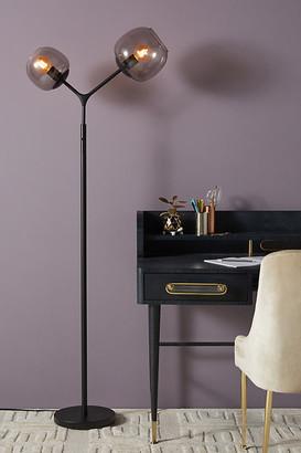 Anthropologie Ashton Tall Floor Lamp By in Black Size ALL