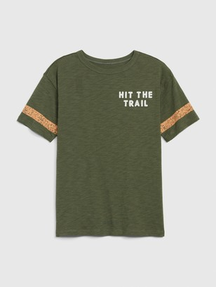 Gap Kids Front and Back Graphic T-Shirt