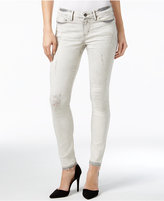 Calvin Klein Jeans Released Hem Erased Charcoal Wash Ankle Skinny Jeans