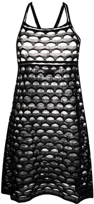 Missoni Pre-Owned Cut-Out Sheer Dress