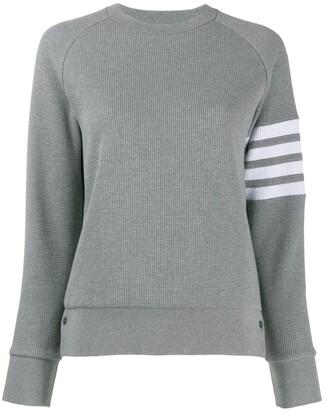 Thom Browne 4-Bar stripe sweatshirt
