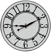 Cottage White Wall Clock